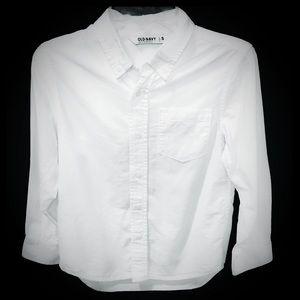 Boys Old Navy White Dress Shirt